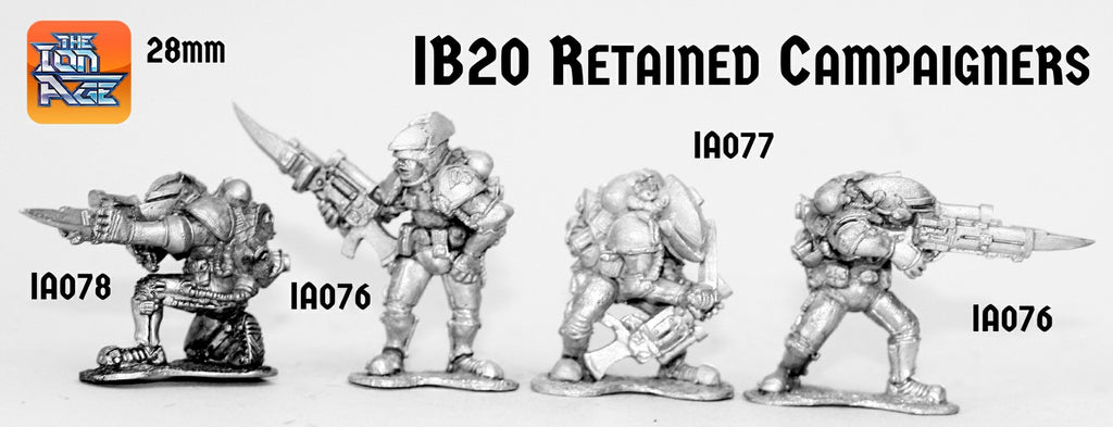 IB20 Retained Campaigners