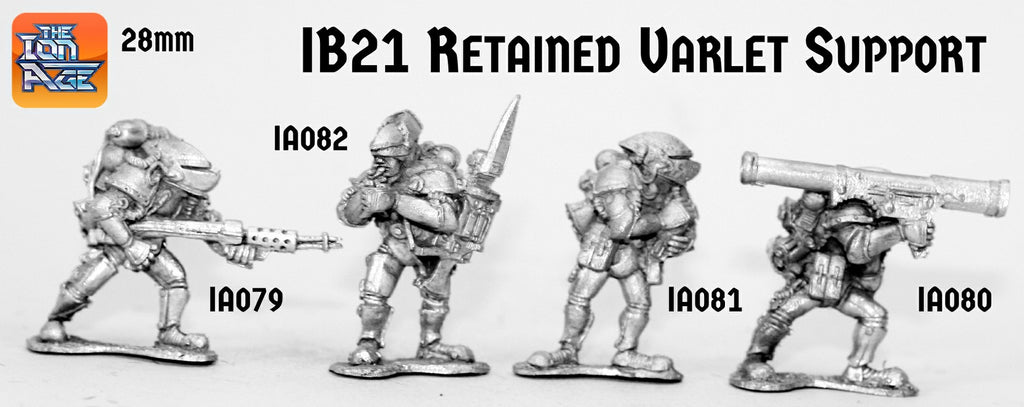 IB21 Retained Varlet Support