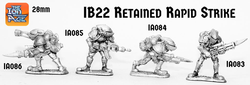 IB22 Retained Rapid Strike