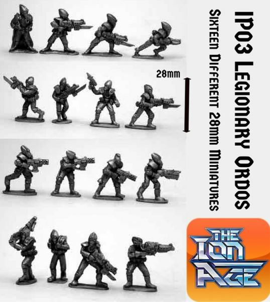 IP03 Khanate Legionary Ordos with two miniatures included free
