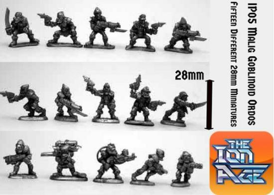 IP05 Malig Goblinoid Ordos with two miniatures included free