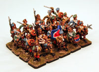 JU01 Jacobite Clansman Mixed 20 Man Unit - Save 10%