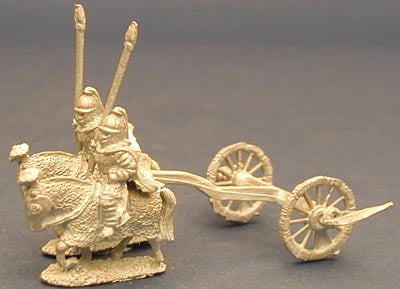 LRC13 Late Roman Cataphract Scythed Chariot
