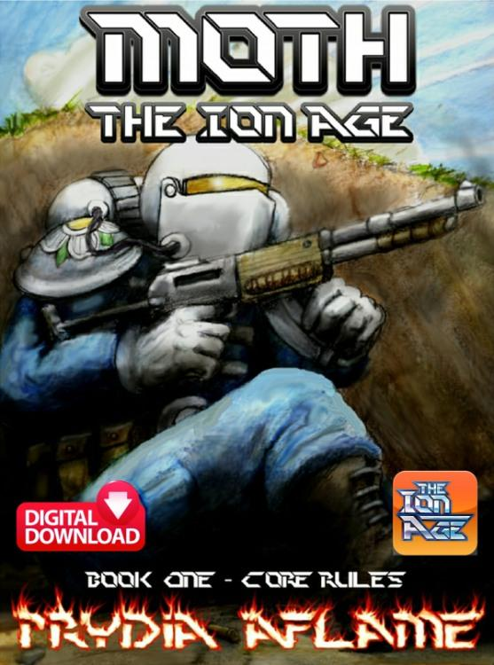 Moth Squad Level Ion Age Wargame Rules - Digital Paid Download
