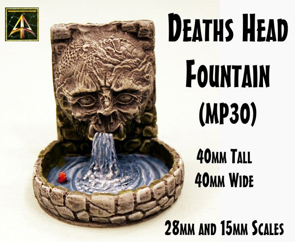 MP30 Deaths Head Fountain