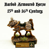 MRH20 Barding Armoured Horse 15th to 16th Century