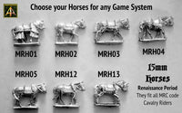 MRC Horses only with no rider - Choose your Horses