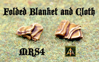 MRS4 Folded Blankets and Cloth Piles