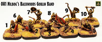 OH1 Nilbogs Backwoods Goblin Band - Free Pack in all shipped May 2020 Orders