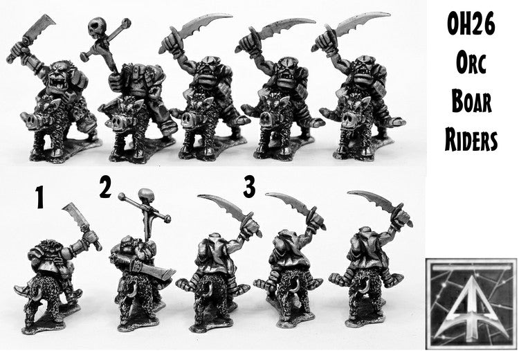 OH26 Orc Boar Riders