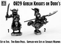 OH30 Goblin Knights on Dodos