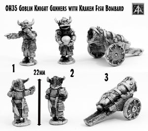 OH35 Goblin Knight Gunners with Kraken Fish Bombard