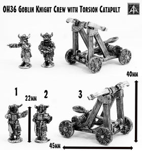 OH36 Goblin Knight Crew with Torsion Catapult
