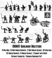 OHM01 Goblinoid Multitude Miniatures Set - Save 10%