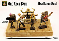 ORB Orc Rock Band in 28mm scale