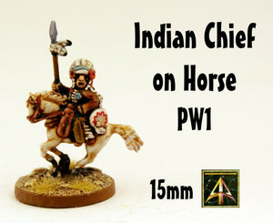 PW1 Indian Chief on Horse