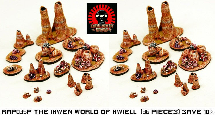 RAP035P The Ikwen World of Kwiell (36 pieces save 10%)