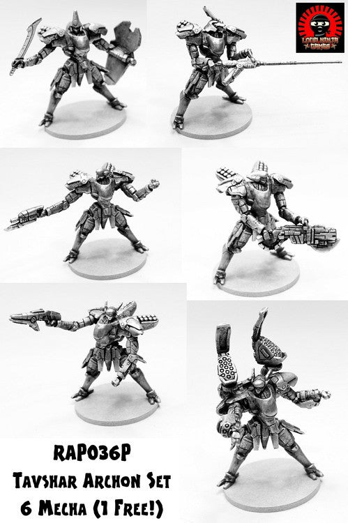 RAP036P Tavshar Archon Full Set of Six  (One Free and Free Shipping)