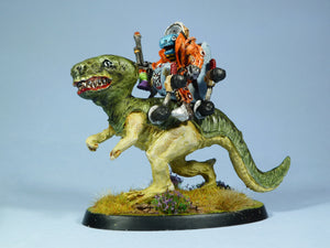 SF0 Giant Lizard with Saurian Rider and Hydraulic Saddle (Pack or Parts)