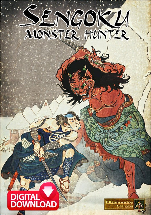 Sengoku Monster Hunter Wargame Rules - Digital Paid Download