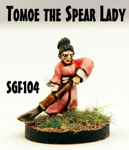 SGF104 Tomoe the Spear Lady