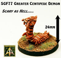 SGF77 Greater Centipede Demon