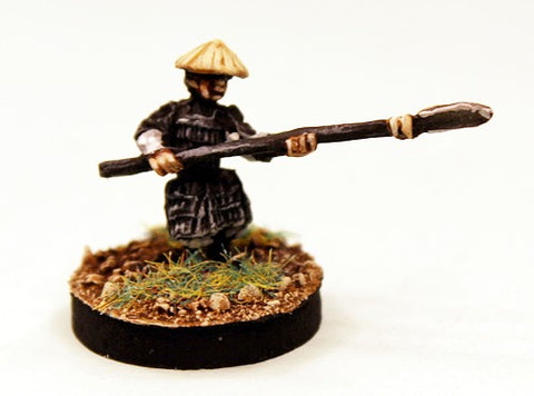 SGF96 Armoured samurai with Naginata (armoured legs)