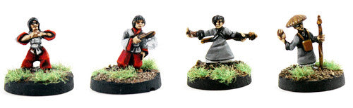 SGFP08 Miko Maidens and Monks Pack