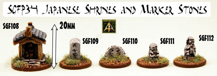 SGFP34 Japanese Shrines and Marker Stones