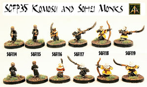 SGFP35 Komosu and Sohei Monks