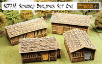 SGFP39 Sengoku Buildings Set One (Four Houses) - Save 10%