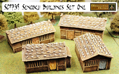 SGFP39A Sengoku Buildings Shutters Pack