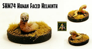 SHM74 Human Faced Helminth