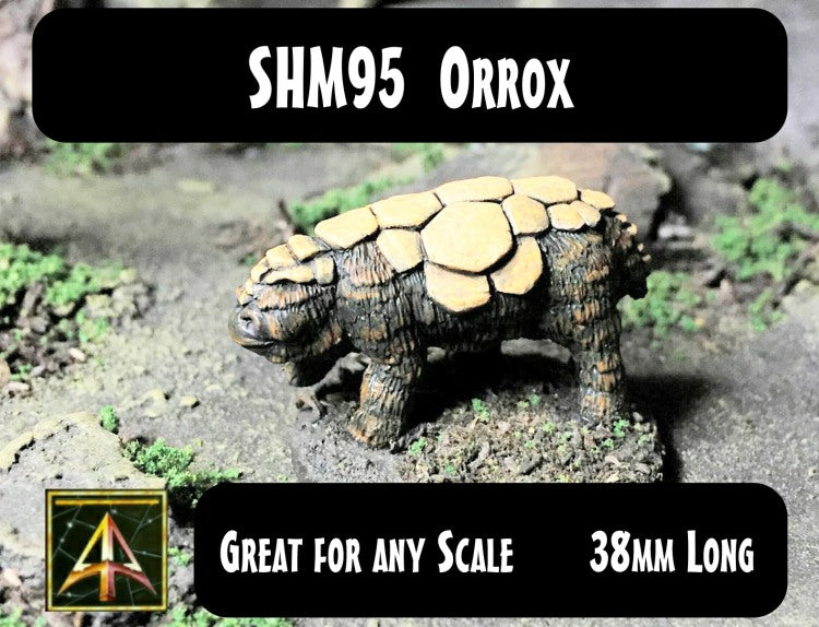 SHM95 Orrox - A creature good for several scales of gaming