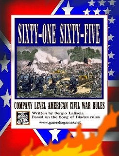 61 to 65 Company Level American Civil War rules