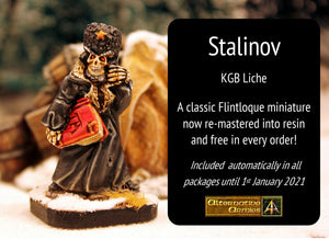 5002I Stalinov the KGB Liche - Free in every December order automatically