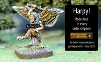 HE06 Harpy - Free in every order shipped out during May 2021
