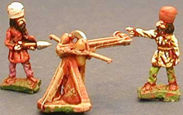 SP3 Sassanid Persian Bolt Thrower and Two Crew