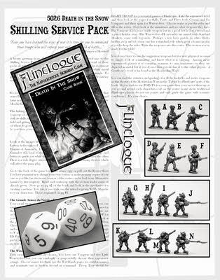 SSP02 Death in the Snow - Shilling Starter Set