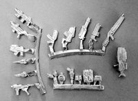 SUX050 Weapon and Accessories Sprues