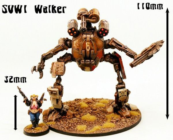 SVW1 The Sulphur Walker (110mm tall kit)