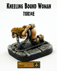 TOR14e Kneeling Bound Woman