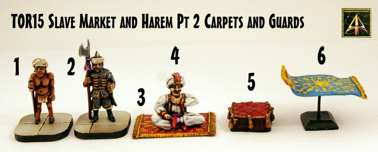 TOR15pt2 Slave Market and Harem Pt 2 Carpets and Guards