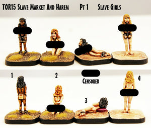 TOR15 Slave Market and Harem Pt1 Slave Girls