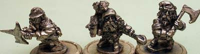 FST01 TTF Dwarf Skirmish Pack (20 mixed figures)