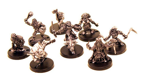 AAB026 Possessed Dwarf Set of Six Heads