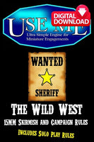 UM008 USEME Wild West - Paid Digital Download