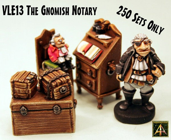 VLE13 The Gnomish Notary - Sold Out