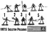 VNT15 Skeleton Polearms