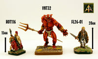 VNT32 The Splendorous Djinn (one model with two different weapons included)